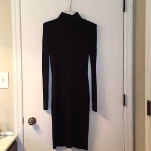 Moda International black fitted dress